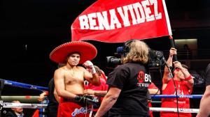 David Benavidez Victory